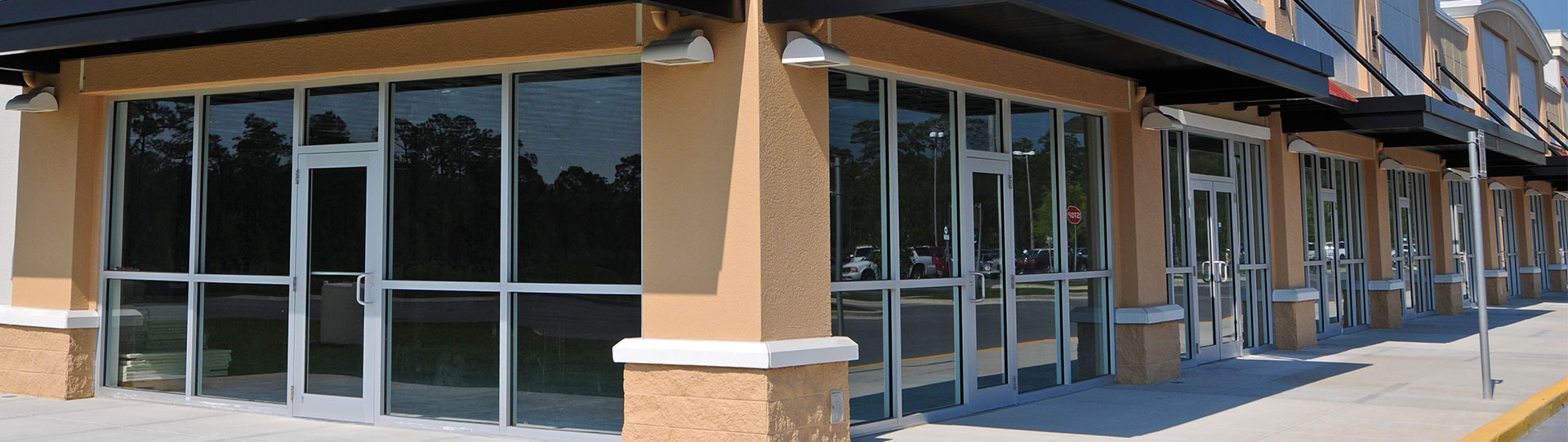 Storefront Windows And Doors commercial storefront - bmg glass